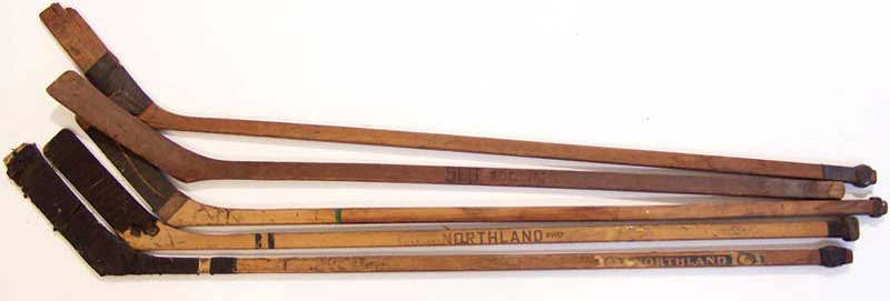 Your old wooden hockey stick, broken or not, is wanted.