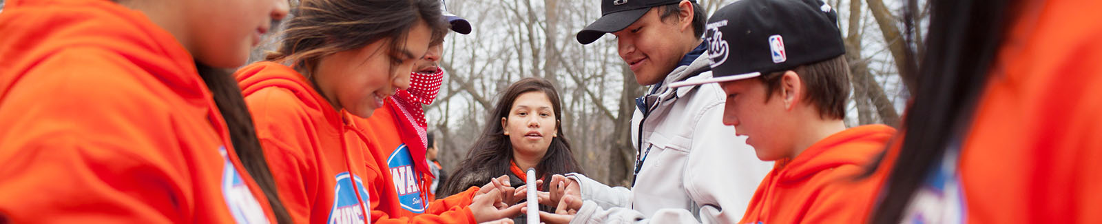WASAC programs focus on leadership and mentorship skills for Aboriginal youth through sport and recreational programs.