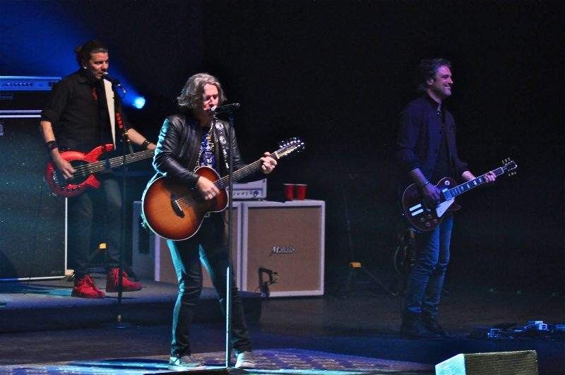(l-r) Will Turpin, Ed and Dean Roland have been in the Collective since 1992