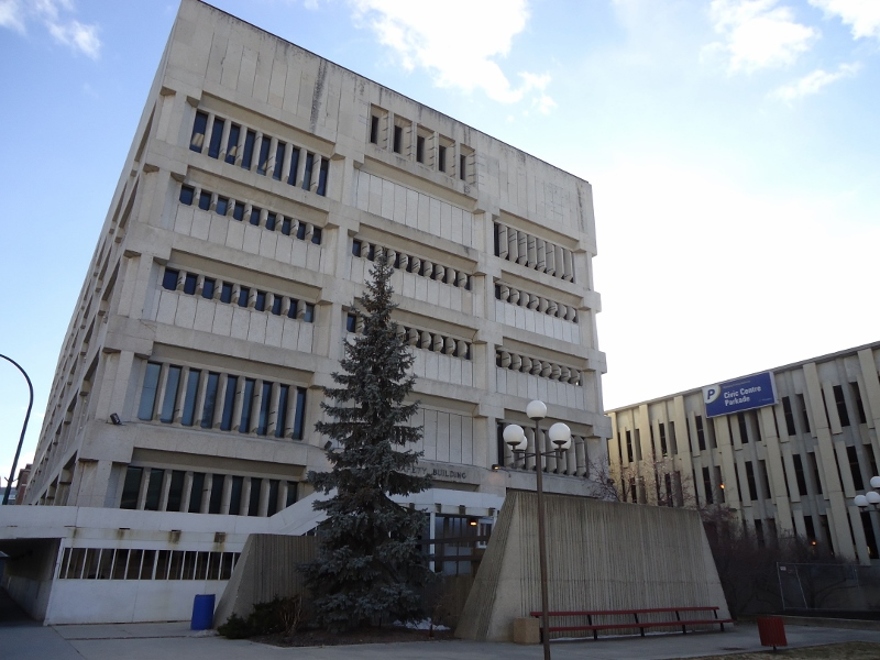 Public Safety Building: an eyesore to be demolished or a treasured gem of architecture to be preserved. /SHIRLEY KOWALCHUK