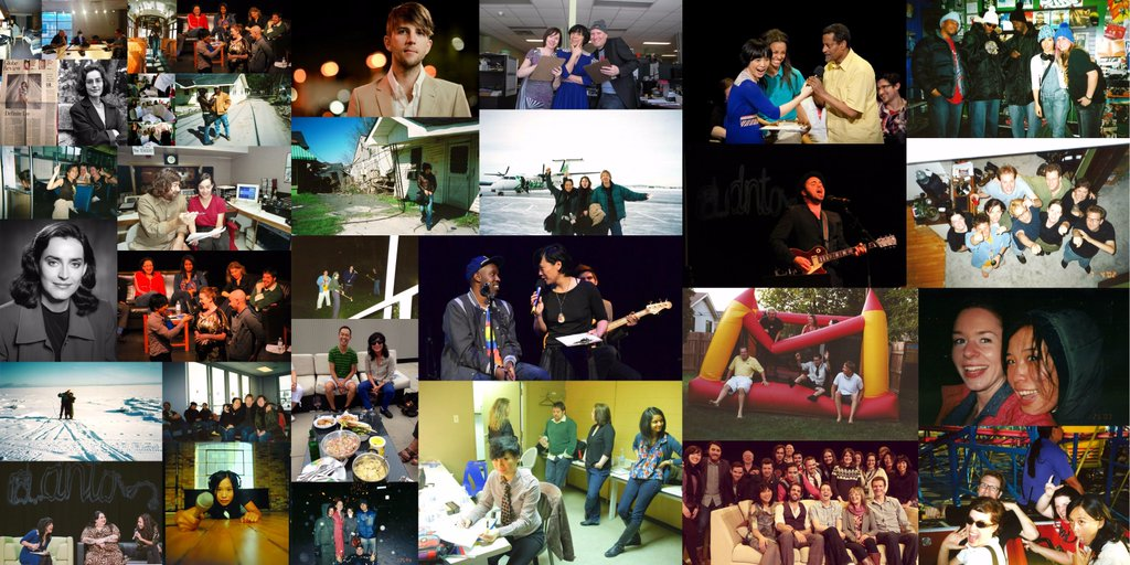 Photo montage of more than two decades of DNTO shows.