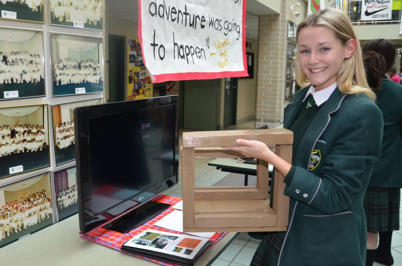 Madison Lacombe, a Grade 10 Balmoral Hall student, is working with a school in Kenya to put more desks in classrooms. (PHOTO: Jennifer Pawluk)