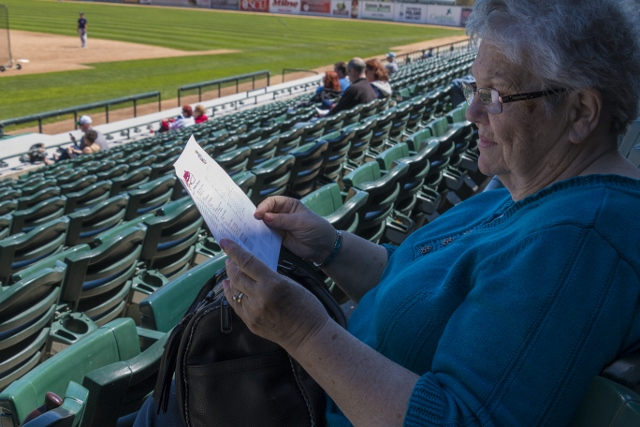 Mary Bueckert examines this year's roster. /JEFF SCHULTZ