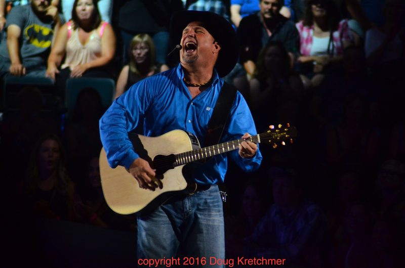 Garth Brooks seemed to having a great time playing MTS Centre. /DOUG KRETCHMER