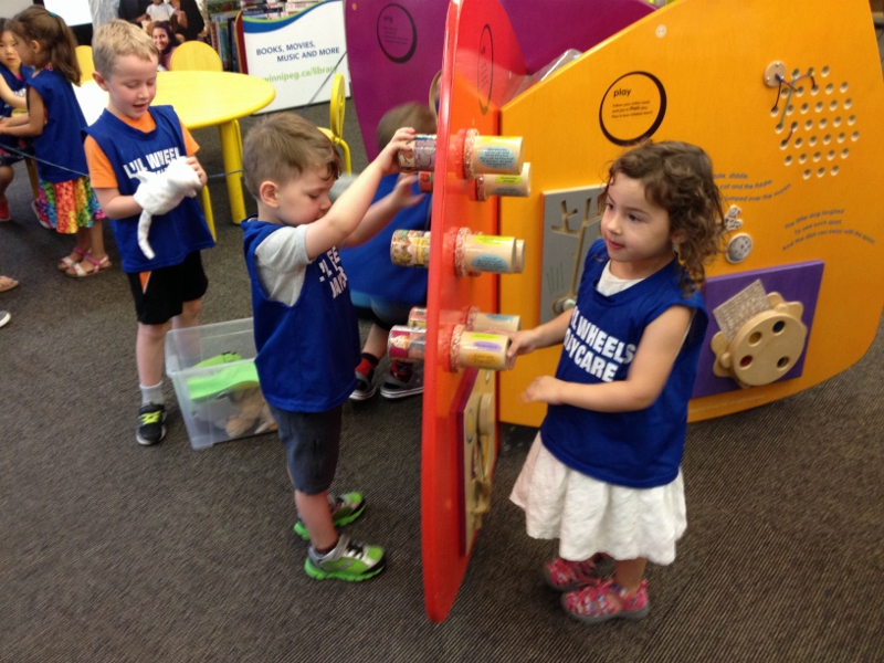 Libraries are no longer places where kids must be silent; now they can have fun while learning. /KERRY RYAN