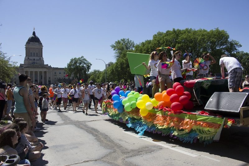 It was a colourful and vibrant parade enjoyed by many. /MARIE LEBLANC