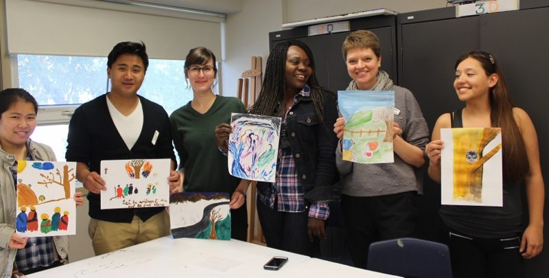 Art making as a convener of community is a hallmark of Artbeat Studio and Studio Central.