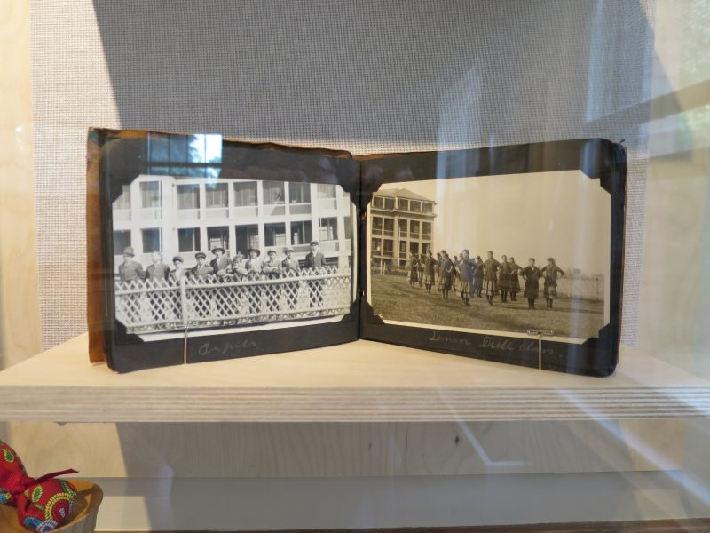 Photo album from Mackay Indian Residential School, The Pas. /JOAN SUZUKI