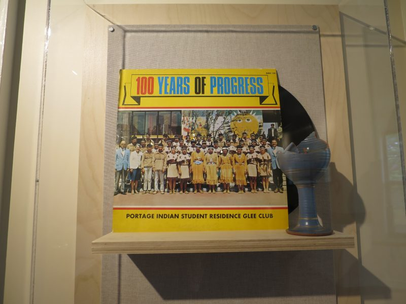 100 Years of Progress: Portage Residential School Glee Club and United Church chalice. /JOAN SUZUKI