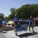 RBC showed its support at this year's Pride Parade in Winnipeg. /MARIE LEBLANC