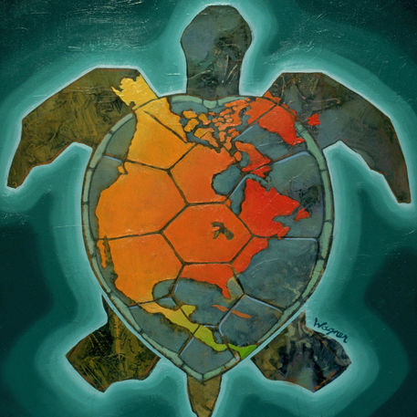 iroquois and their legend the world on the turtle s back 38 unit 1: early american writing world turtle's back iroquois in the beginning there was no world, no land, no creatures of the kind that are around us now, and there were no men.