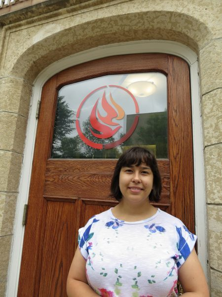 Kaila Johnston, Community Engagement Coordinator, National Centre for Truth and Reconciliation. /JOAN SUZUKI