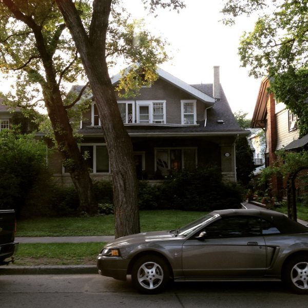 Neil Young's house; part of John Einarson's musical history tour of Winnipeg. /ANNE MARTIN