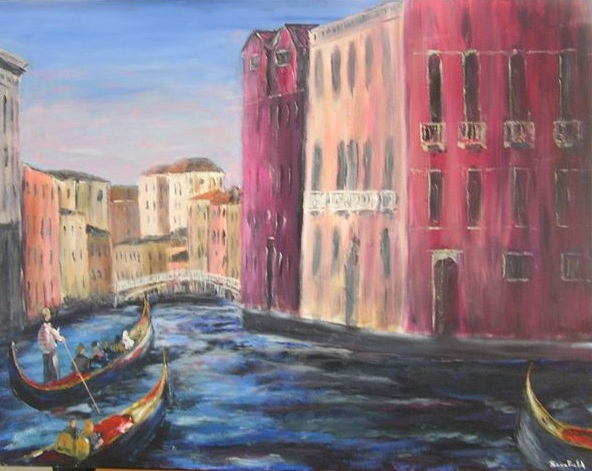The Grand Canal in Venice by Bob Scurfield.