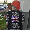 The back of the Pearly Queens jacket