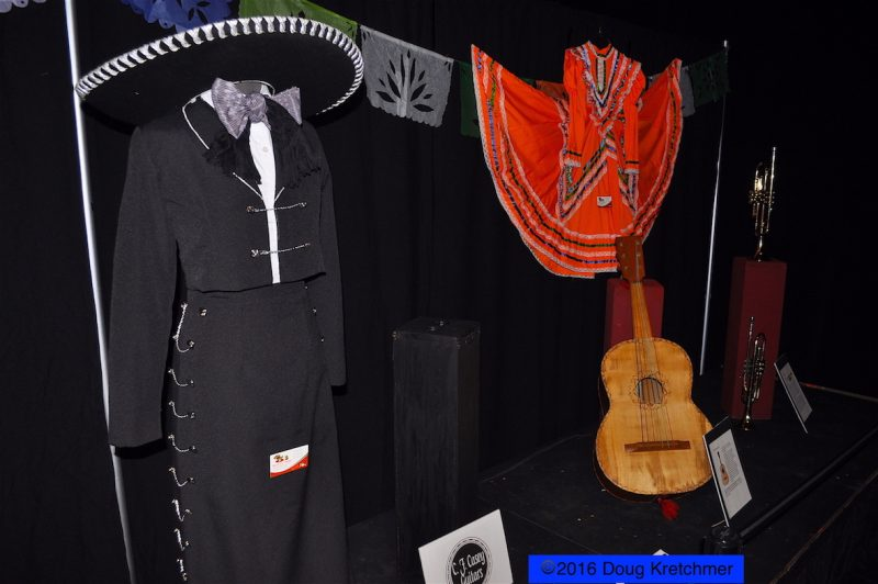Various Mexican items on display at the pavilion. /DOUG KRETCHMER