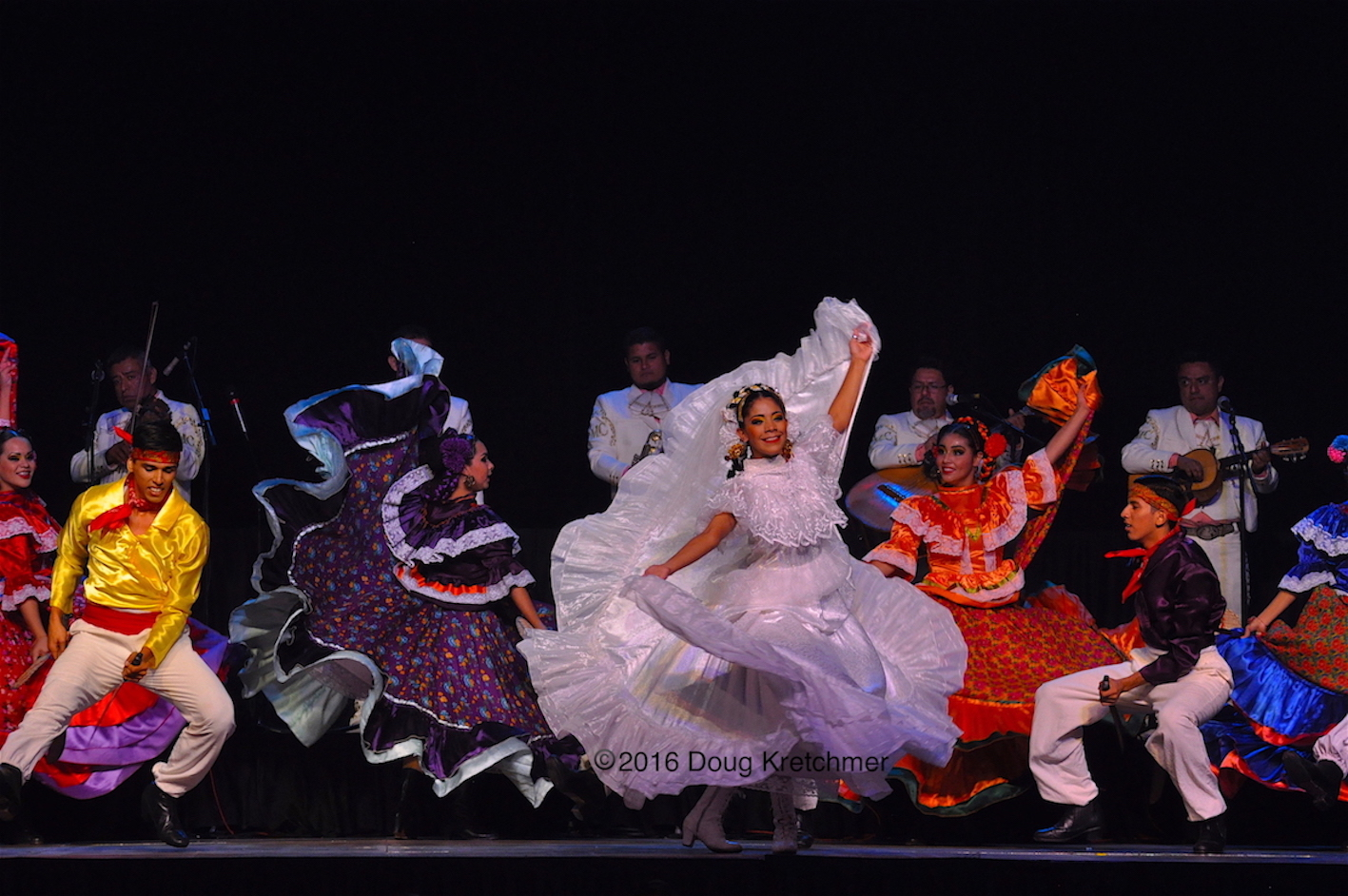 Many colourful performances can be seen at Folklorama pavilions. /DOUG KRETCHMER