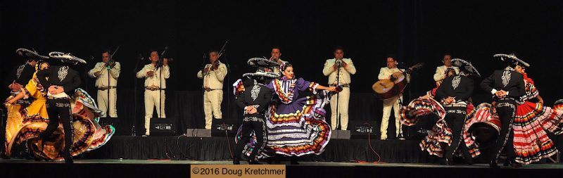 Many colourful performances can be seen at Folklorama's Mexican Pavilion. /DOUG KRETCHMER