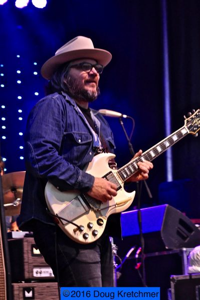 Wilco on stage at Interstellar Rodeo. /DOUG KRETCHMER