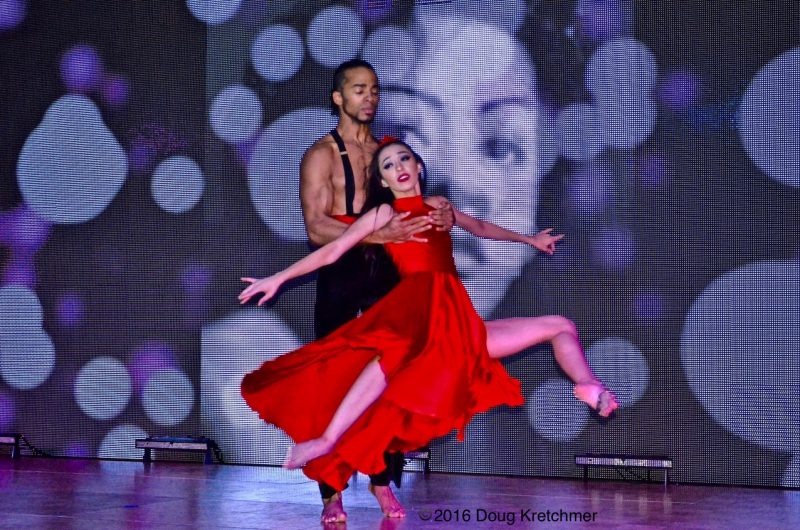 The Cuban Pavilion featured dazzling display of colour and passionate dancing. /DOUG KRETCHMER