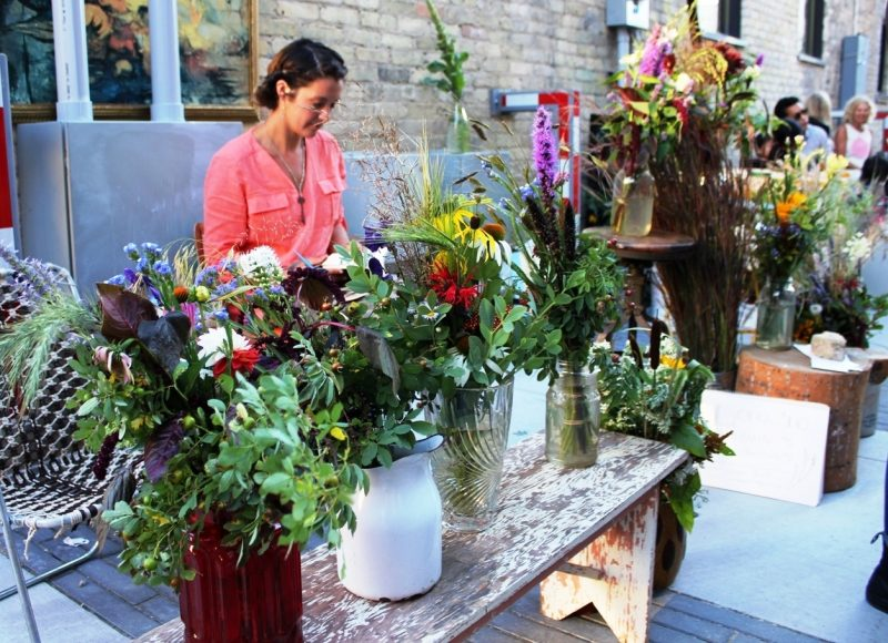 Broken Forest's Manitoba bouquets make you forget those waxworks tulips.