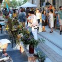 First Friday snapshots: in the Alley / at the Gallery