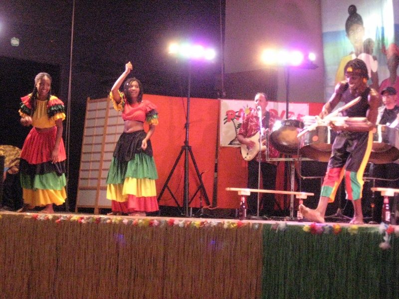 Vibrant performances are showcased at Folklorama's African-Caribbean Pavilion. /SUSAN HUEBERT