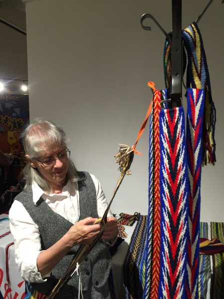 Traditional French Canadian sash-making