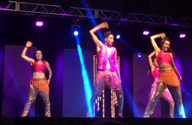 Bollywood brought the house down. /HEATHER EMBERLEY