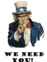 Uncle Sam needs you!!