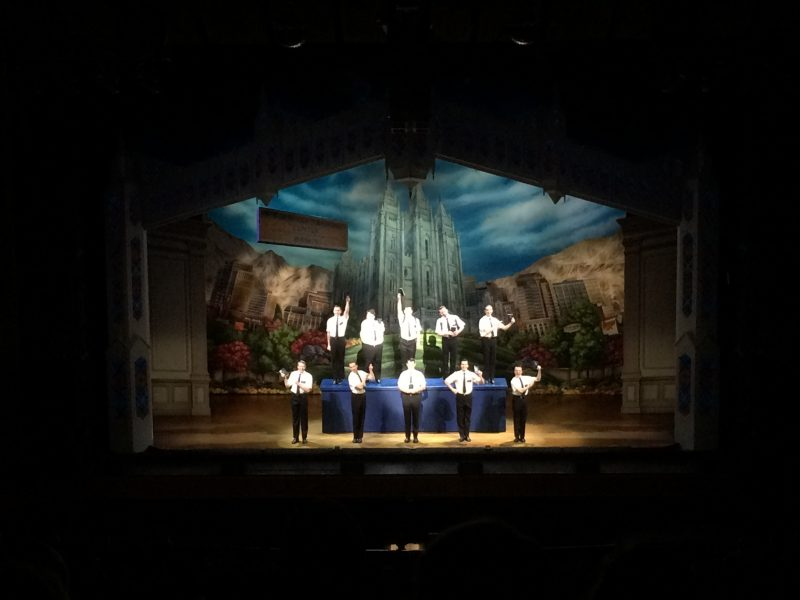 The Book of Mormon received a great response from appreciative audience at Centennial Concert Hall. /ANNE HAWE