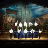 Book of Mormon entertaining, well paced