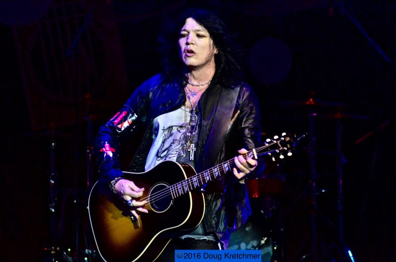 Tom Keifer's sound incorporates blues- rock as well as metal