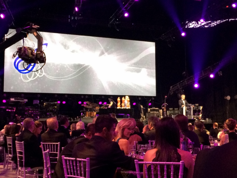 The floor of MTS Centre was decked out beautifully for David Foster Gala Event. /ANNE MARTIN