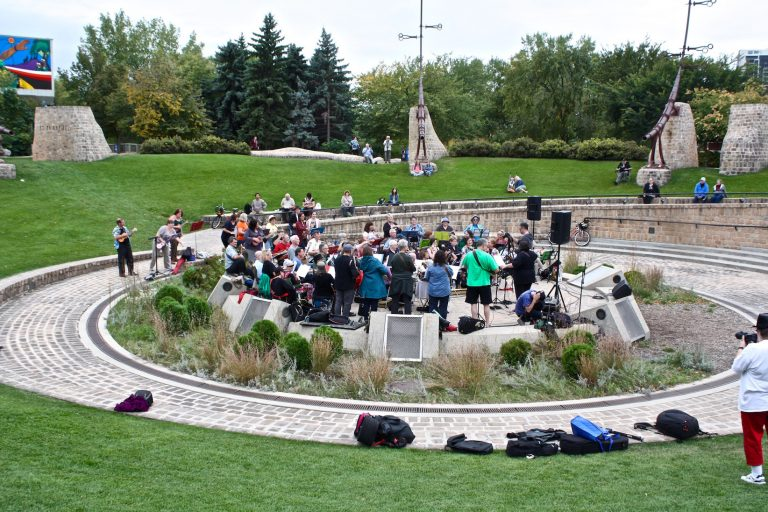 Oodena Circle at the Forks