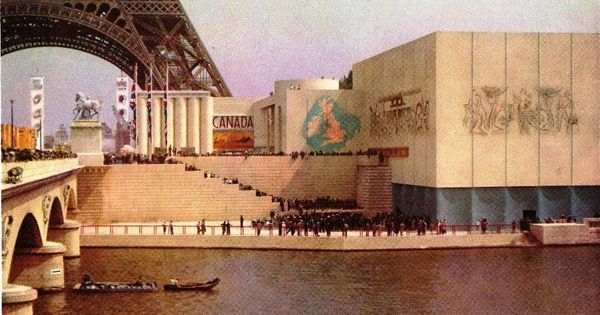 Canadian pavilion at 1936 World Expo.