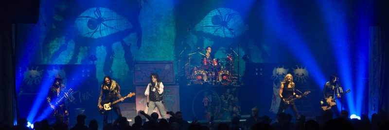 The Spend An Evening With Alice Cooper tour was quite the production