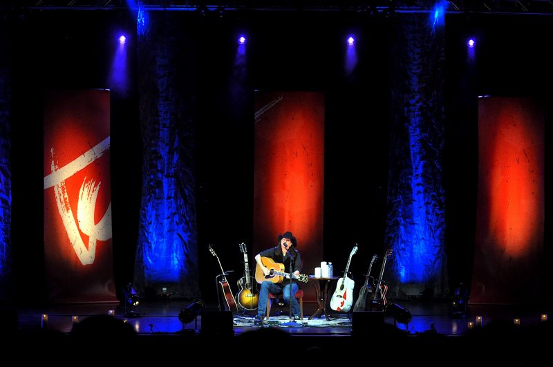Club Regent was the 20th stop of 42 dates on Terri Clark's Back to My Roots Solo Acoustic Tour