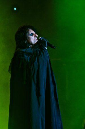 Alice Cooper sang of the deadly mating game of the Black Widow