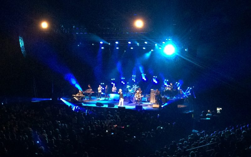Boy George and Culture Club on stage at MTS Centre. /ANNE MARTIN