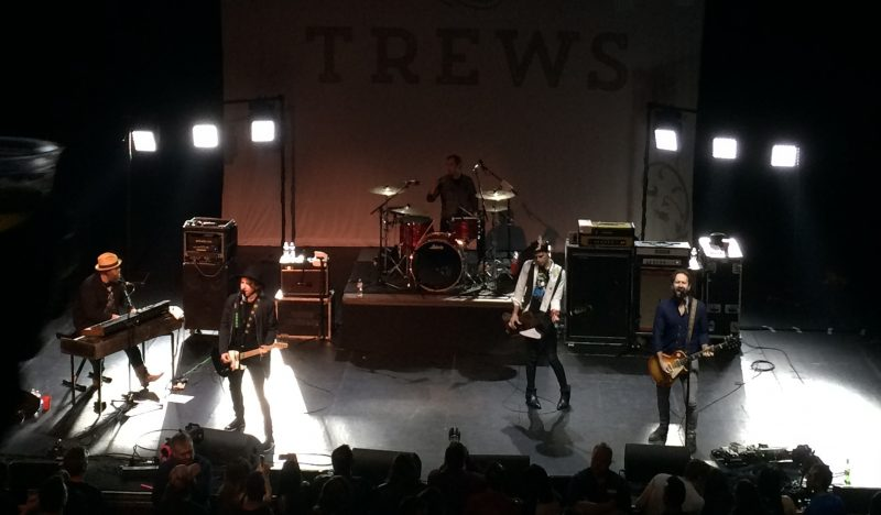 The Trews played well, but the lighting and sound were problematic for this reviewer. /ANNE MARTIN