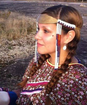 When not throat singing, Nikki Komaksiutiksak from Chesterfield, Nunavut, works for Manitoba Justice and volunteers helping Inuit who move to Winnipeg.