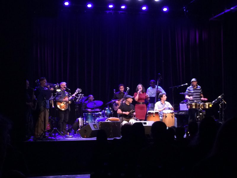 Papa Mambo and friends conclude an evening of fine performances. /ANNE MARTIN