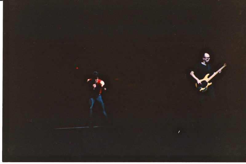 Iggy Pop opening up for the Pretenders at the Winnipeg Arena Mar. 10, 1987. (I know I have better pix somewhere)
