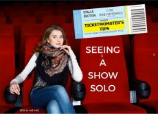 TicketMOMster's tips for seeing a show solo