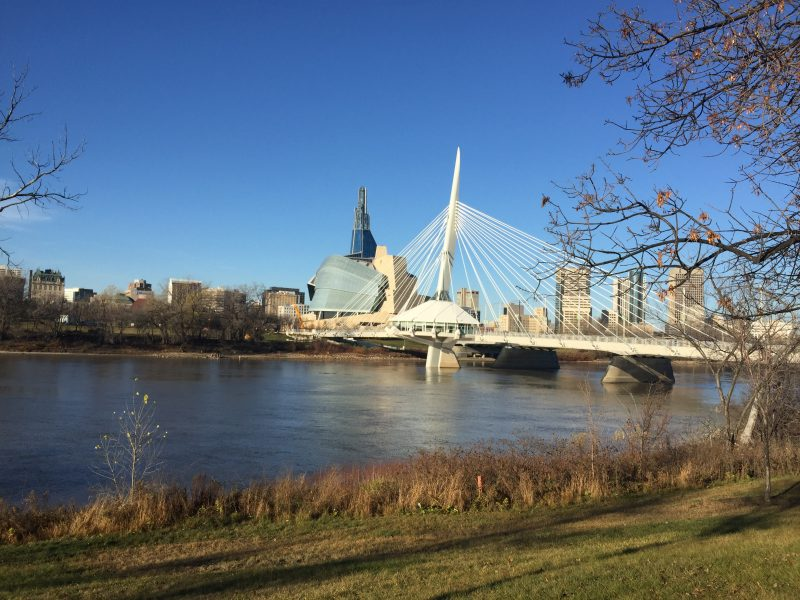 Winnipeg River near the Forks