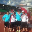 Northern youth head south to support Summer Games