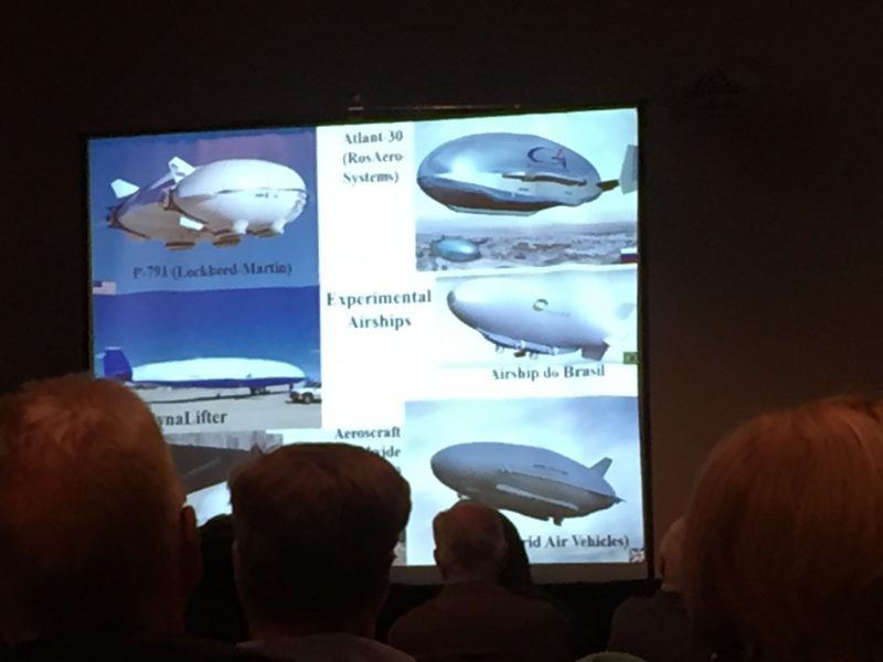Airship options for northern transportation