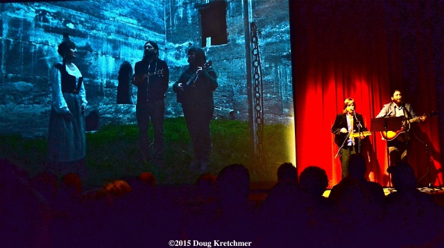 Erika MacPherson\'s film, HEIMþRÁ (IN THRALL TO HOME), and two other films were screened last night at WAG for opening of \'núna- Iceland/ Canada Art Convergence festival\' which runs Apr. 17-26 (nunanow.com). Christine Fellows and John K. Samson, who did the soundtrack, played a few songs also <br /><em> by Doug Kretchmer </em>