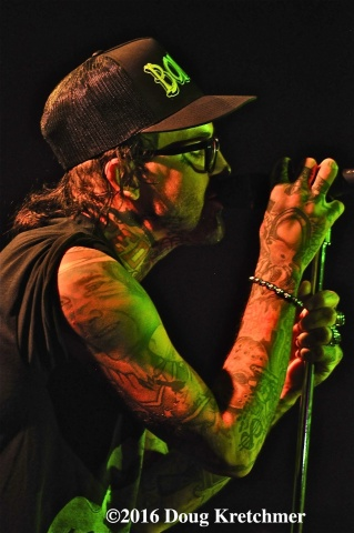 Alabama hip-hop artist Yelawolf played a sold-out show at The Pyramid Saturday night. PHOTO by Doug Kretchmer